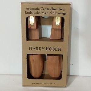 Harry Rosen Aromatic Cedar Shoe Trees sz M 8 - 9.5